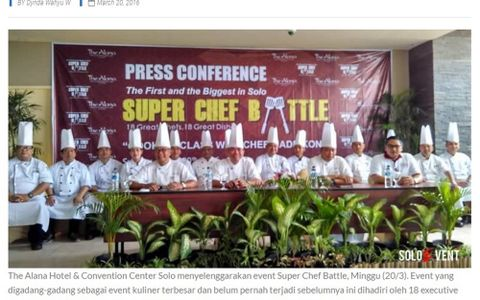 PERTARUNGAN MASAKAN KULINER DI SUPER CHEF BATTLE