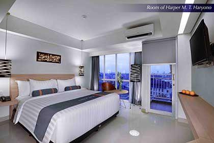 Harper MT Haryono - Room