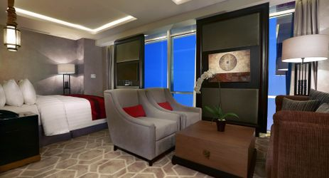 Homy Executive Suite bedroom to sleep and getting comfortable while staying in the center of business district in South Jakarta