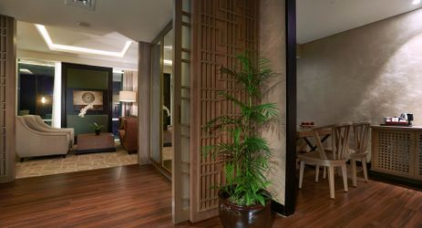 Spacious Living Room inside the room to gather while staying in the center of business district in South Jakarta