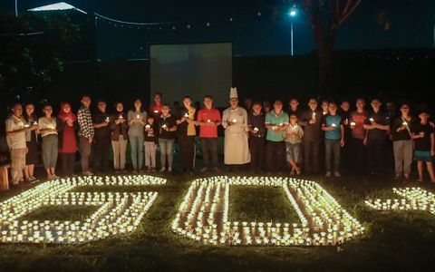 1000 Candles for Earth Hour