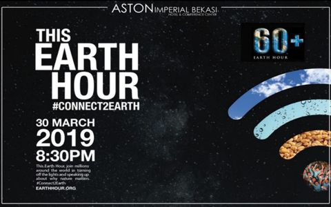 THE EARTH HOUR #CONNECT2EARTH