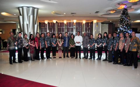 Mr President Visited to Pontianak