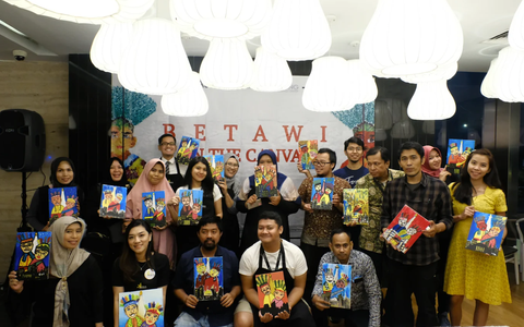 Betawi in canvas