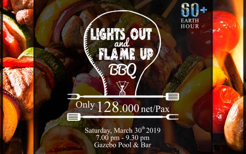 Earth Hour BBQ Buffet Dinner