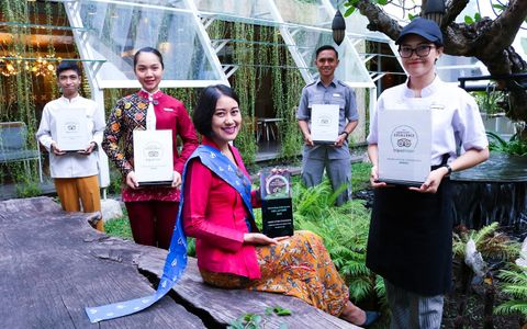 """Grand Aston Yogyakarta Receive """"Hall of Fame"""" of Certificate of Excellence in Five Consecutive Years on the World`s Largest Travel Site"""
