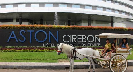Use our delman facility to explore the area near Aston Cirebon Hotel and Convention Center