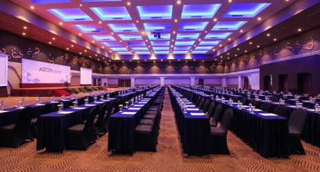 Spacious ballroom which is perfect for both business and celebratory event