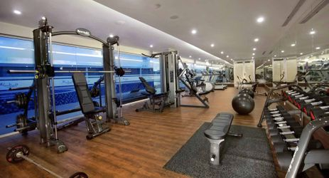 Keep fit when traveling to kupang, plan a morning or evening workout in fitness center