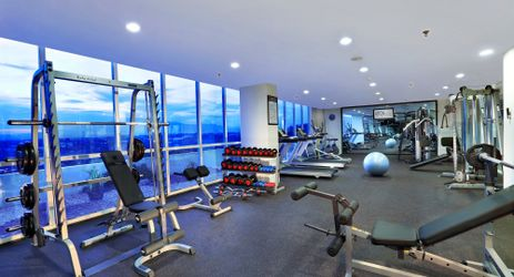 Sport Center features a range of top quality gym equipment including free weights, cardiovascular machines and weight training gear for a rewarding workout, there's also a sauna