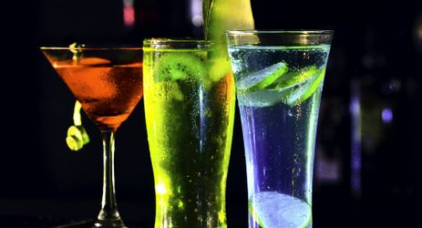 Variety of drink combinations can be enjoyed while listening live music