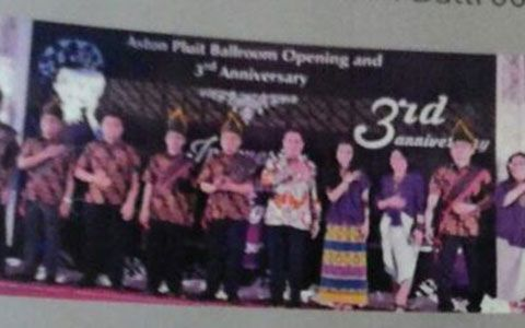 Indonesian Culture Night on Aston Pluit Ballroom's Launching