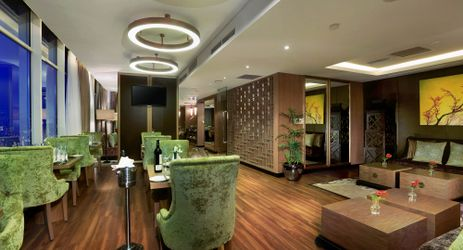 An exclusive lounge dedicated for VIP guests who stay in the center of business district in South Jakarta
