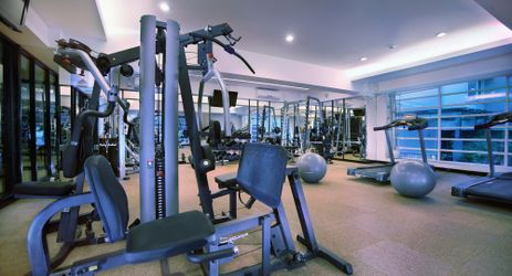 Be fit and keep in shape at our modern concept Fitness Centre