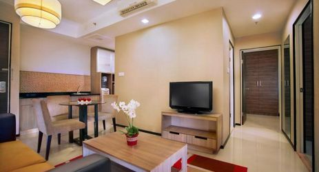 Large and spacious living room will bring a togetherness for your family member