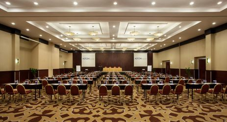 Our Ballroom can be transformed into various layouts for your meeting needs. Call us at 0251 8200 300 for any inquiries.