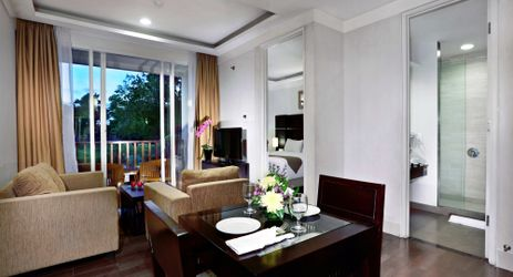 Aston Bogor Hotel and Resort Condotel One Room. Enjoy this comfortable room for your great weekend.