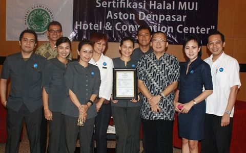 Aston Denpasar Is extending renewal Halal Certified from MUI