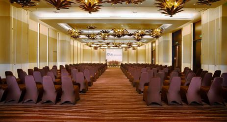 Lotus Ballroom at Grand Aston Yogyakarta is ideal for large-scale corporate gatherings, conference, seminars, exhibitions to lavish wedding celebrations