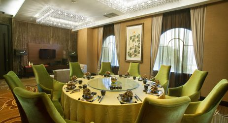 A Chinese Restaurant with 7 elegantly set up private dining rooms with full karaoke set.