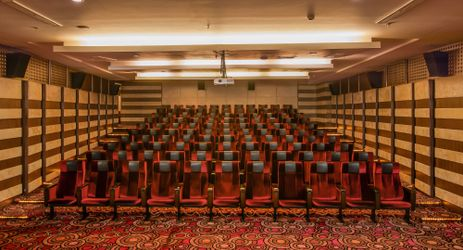 Maple theatre brings the art of entertainment closer to you. With the capacity for over 100 audiences and a wide projector, the theatre is a perfect venue for your event.