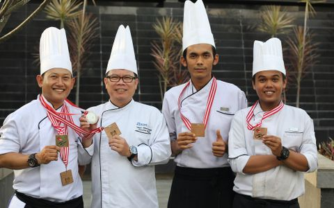 Chef Edy Won The International Chef Contest 2017