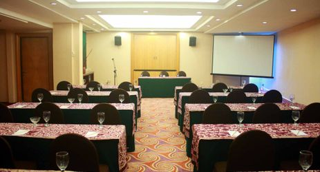 Indoor function room to host business meeting, workshop, training or wedding, birthday party or any reception in in modern stylish classy hotel in