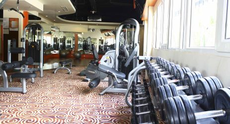 Enjoy the gym to keep your health during stay in manado