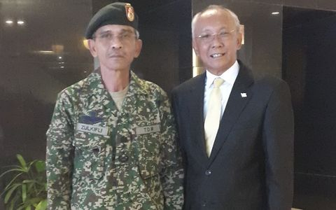 Assistant Chief of Army Reserve of Malaysia Visit To Aston Pontianak