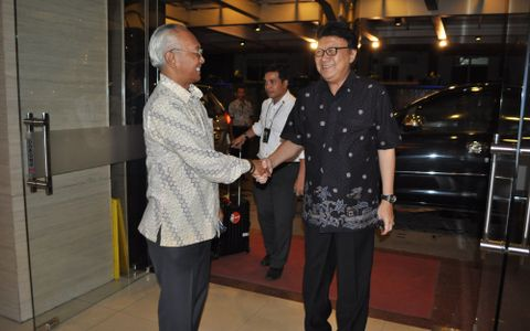 Minister of Home Affairs visit to Aston Pontianak Hotel & Convention Center