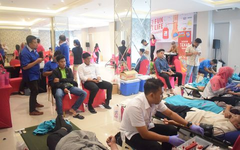Get Fun, get Life Blood Donation