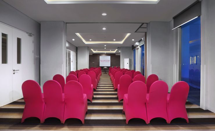 Comfortable meeting room will ensure your perfect occasions .in Surabaya