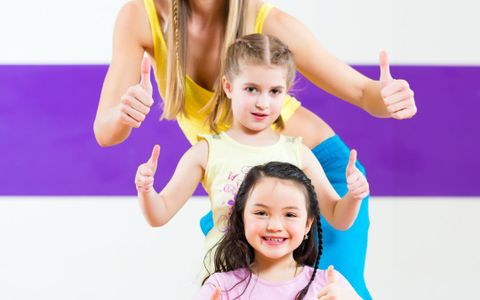 Mom and Kids Zumba
