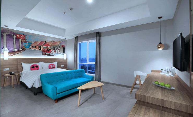 """The 24 sqm rooms well equipped with 32"""" LED TVs with international & local channels, ac, safety deposit boxes, ensuite bathroom with standing shower, IDD telephones, writing desk with universal power outlet, free wifi connections throughout and elect"""