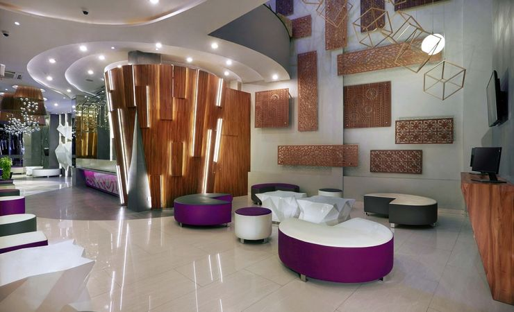 A Stylish and modern Decoration,Fun ,fresh and friendly hotel in Banjarmasin