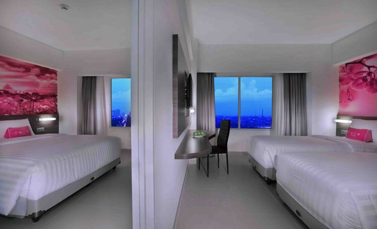 The room with Connecting with next room, make your holiday with family very impressing.