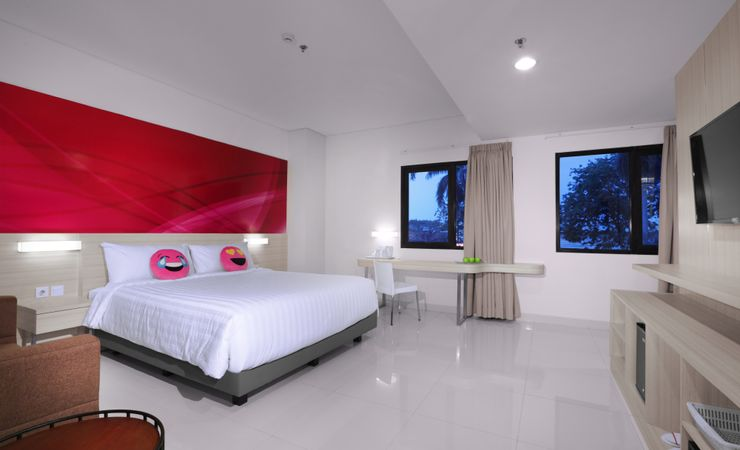Spacious room with modern facilities to ensure your comfortable stay