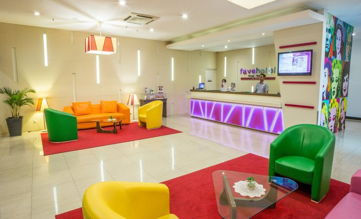 A Contemporary design with modern touch, fresh colorful and cool, the only one in the heart of Bandung