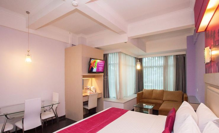 Feels comfort at our room, can suitable for business or leisure with family.
