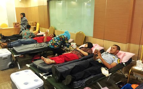 Favehotel Kelapa Gading held a blood donation activity with PMI