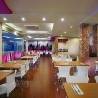 GALAXY Resto and cafe is a Dine in restaurant settled next to lobby area