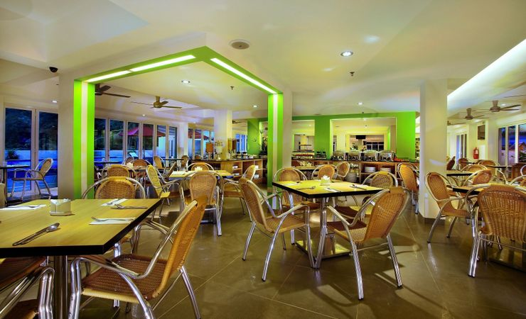We serve daily buffet breakfast, ala carte Lunch and Dinner