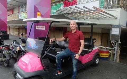 Favehotel LTC Glodok - Buggy Car for hotel guests