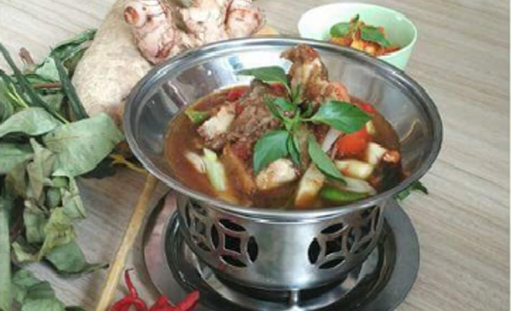 Traditional food from palembang strongly taste and spicy on