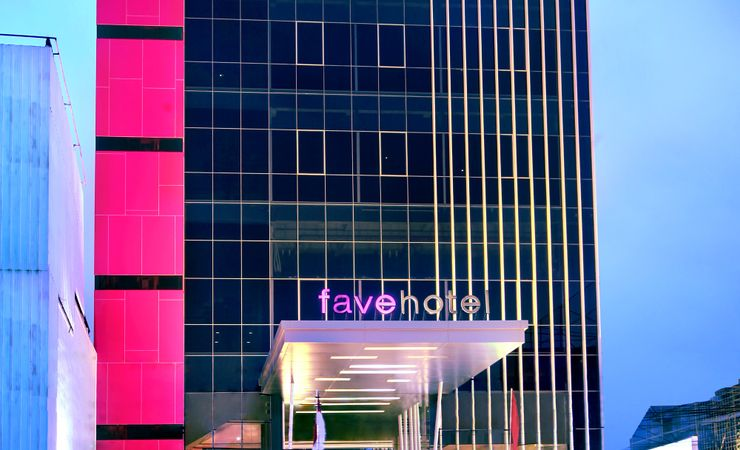 favehotel Pasar ideal location in the heart of Central Jakarta