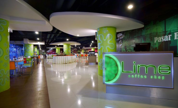 Enjoy breakfast, lunch and dinner at Lime restaurant, our unique, restaurant and cafe in East Jakarta