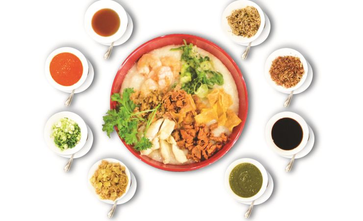 Choose your favorite Congee and enjoy it at our Lime Coffee Shop