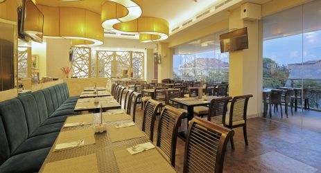 Alacarte menu can be provided for lunch & dinner, and buffet menu for breakfast at 2nd floor