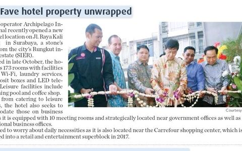 New favehotel property unwrapped
