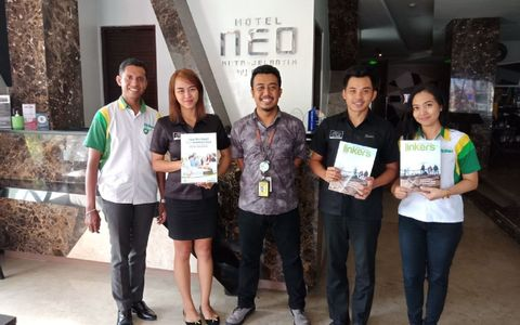 NEO Kuta Jelantik cooperate with Citilink for Boarding Pass holder.